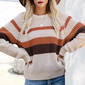 💗SALE! 🎉HP🎉Shaker Rib Stitched Sweater